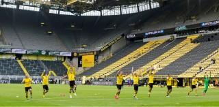 जर्मनीमा फुटबल फर्कियो, डर्टमण्डको शानदार जित